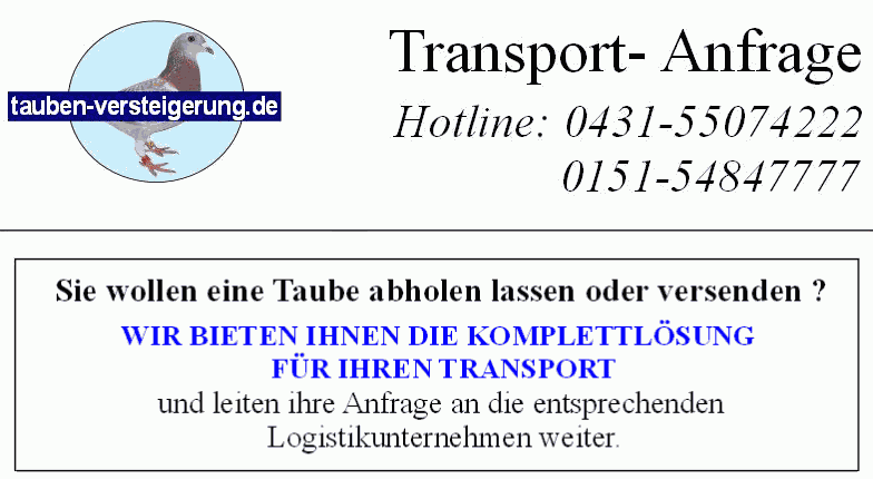 Transport-Anfrage